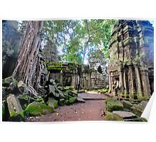 Ta Phrom - The lost temple. Poster