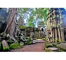 Ta Phrom - The lost temple. Photographic Print