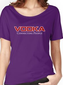 red vodka Women's Relaxed Fit T-Shirt