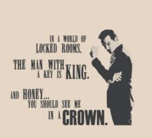 Sherlock - Moriarty Honey you should see me in a crown  by rideqhs