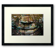 Bayan Relief  Framed Print