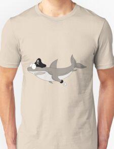 Cartoon shark PIRATE T-Shirt