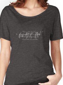 November Rain Women's Relaxed Fit T-Shirt