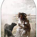 Animal Series-  Black Sheep by Dustin Panzino