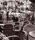 Carousel, Brugge by Barbara Wyeth