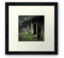 18.11.2015: Old Sauna Framed Print