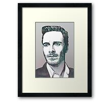 The Fassbender Framed Print