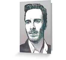 The Fassbender Greeting Card