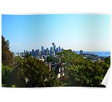 Kerry Park on Queen Anne View of Seattle Poster