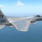 F-15 Strike Eagle by Walter Colvin