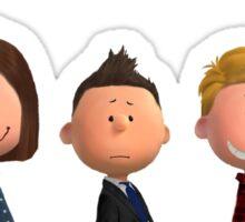 Team Free Will - Peanuts-style Sticker