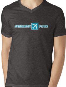 blue frequent flyer Mens V-Neck T-Shirt