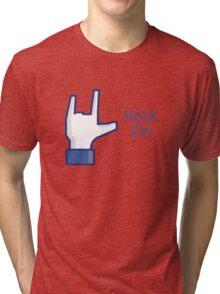 Get your Social Rock On!! Tri-blend T-Shirt