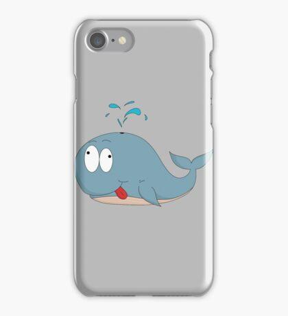 Cartoon whale iPhone Case/Skin