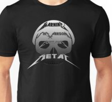 Metal Warning Unisex T-Shirt
