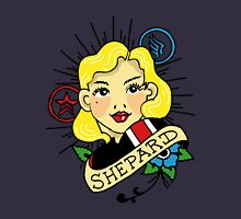 The Commander is my Shepard (Blonde) Unisex T-Shirt