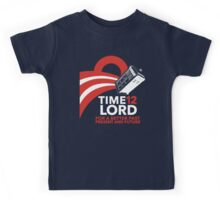 Timelord 2012 (Shirt) Kids Tee