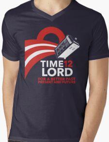 Timelord 2012 (Shirt) Mens V-Neck T-Shirt
