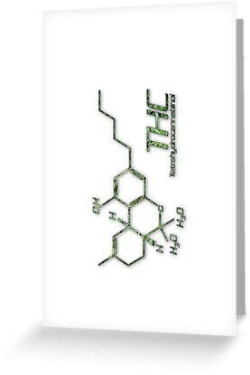 THC Molecule by Netherlabs