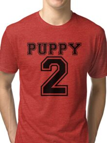 Puppy 2 Tri-blend T-Shirt