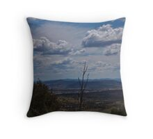 Clouds over the Lost Valley Throw Pillow