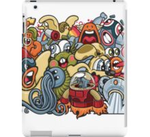 Comics and pokemon  iPad Case/Skin