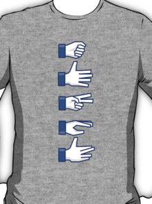Rock, Paper, Scissors, Lizard, Spock T-Shirt