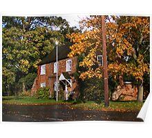 Autumn Near Chester Poster