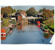 Chester Canal Basin Poster