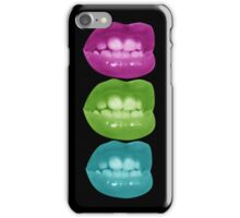 Stacked kisses iPhone Case/Skin