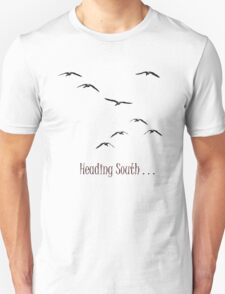 Heading South (Geese1) Unisex T-Shirt