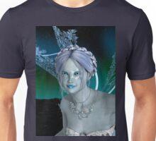 Fantasy Snow Fairy Unisex T-Shirt