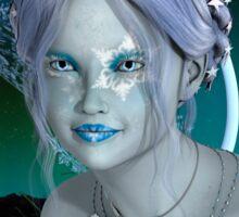 Fantasy Snow Fairy Sticker