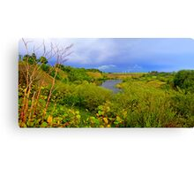 Old Gravel Pit Canvas Print