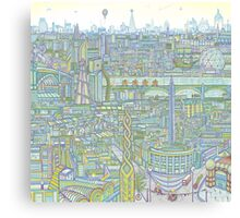 THE MEGATROPOLIS Canvas Print