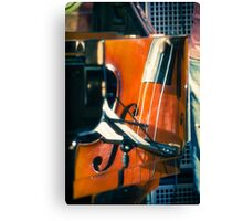 Jazz Abstraction Canvas Print