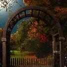 Autumn Archway by RC deWinter