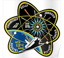 STS-134 Mission Patch Poster