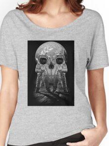 Astronaut Skull Women's Relaxed Fit T-Shirt