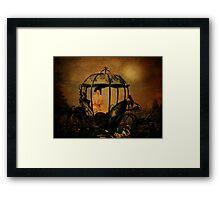 Midnight Throne Framed Print