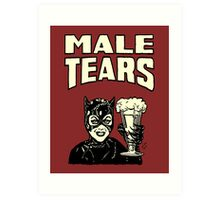 Male Tears: Catwoman Art Print