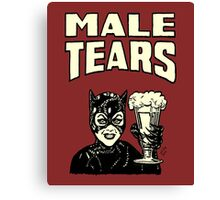 Male Tears: Catwoman Canvas Print