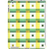 Boxes in Green & Yellow iPad Case/Skin