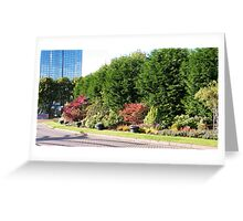 Capstans, Glasgow Greeting Card