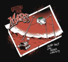 Greetings From Mars Kids Clothes