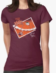 Greetings From Mars Womens Fitted T-Shirt