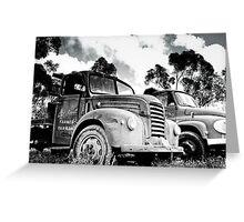 Truck...Truck... Greeting Card