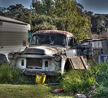 Old Rusting Car by Joel Bramley