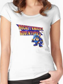 Rocket Knight Adventures Women's Fitted Scoop T-Shirt