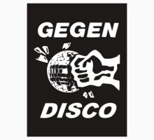 Gegen Disco (white + black) by Bela-Manson